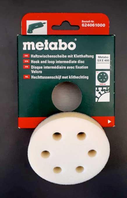 Almohadilla con Velcro 80mm - ecowash